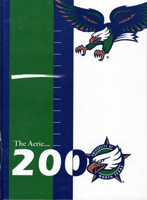 Primary view of object titled 'The Aerie, Yearbook of University of North Texas, 2000'.