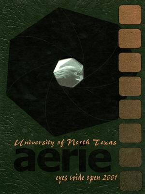 Primary view of object titled 'The Aerie, Yearbook of University of North Texas, 2001'.