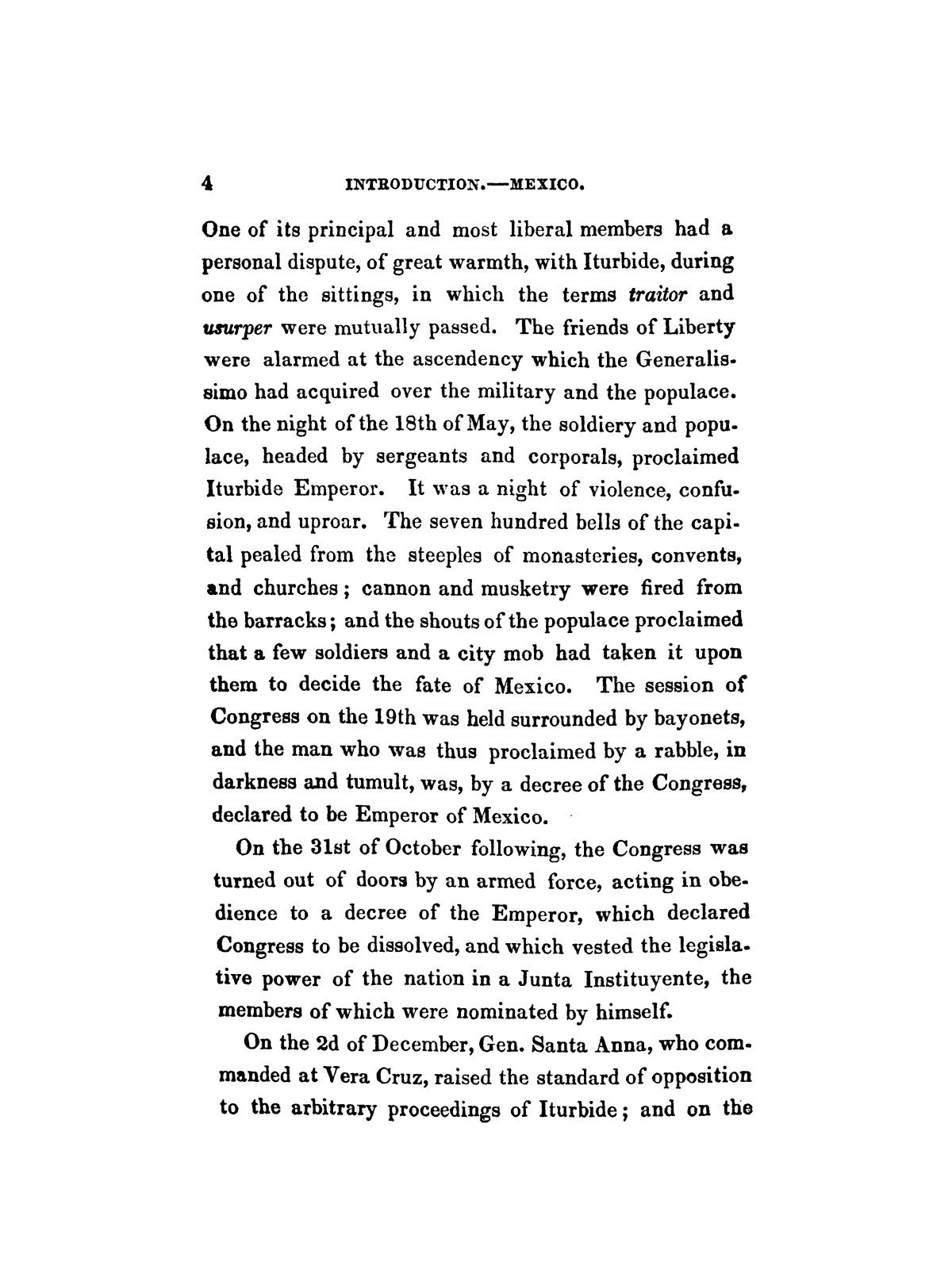 History of the revolution in Texas, particularly of the war of 1835 & '36; together with the latest geographical, topographical, and statistical accounts of the country, from the most authentic sources. Also, an appendix. By the Rev. C. Newell.                                                                                                      [Sequence #]: 16 of 227
