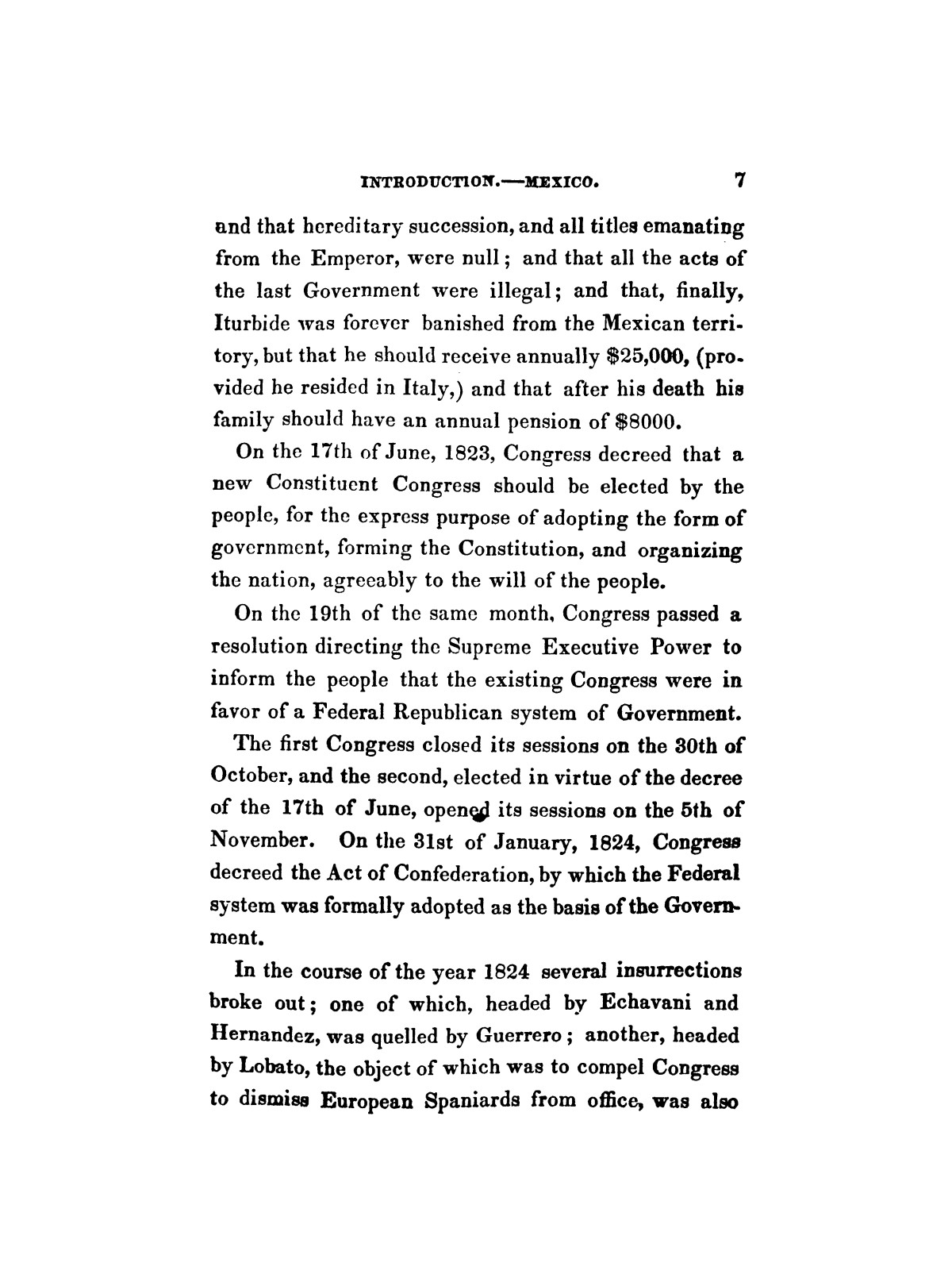 History of the revolution in Texas, particularly of the war of 1835 & '36; together with the latest geographical, topographical, and statistical accounts of the country, from the most authentic sources. Also, an appendix. By the Rev. C. Newell.                                                                                                      [Sequence #]: 19 of 227