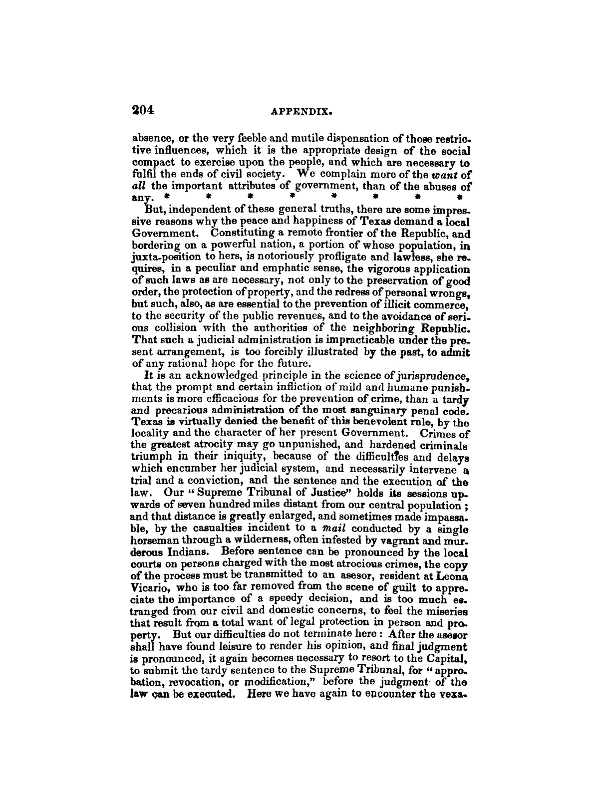 History of the revolution in Texas, particularly of the war of 1835 & '36; together with the latest geographical, topographical, and statistical accounts of the country, from the most authentic sources. Also, an appendix. By the Rev. C. Newell.                                                                                                      [Sequence #]: 216 of 227