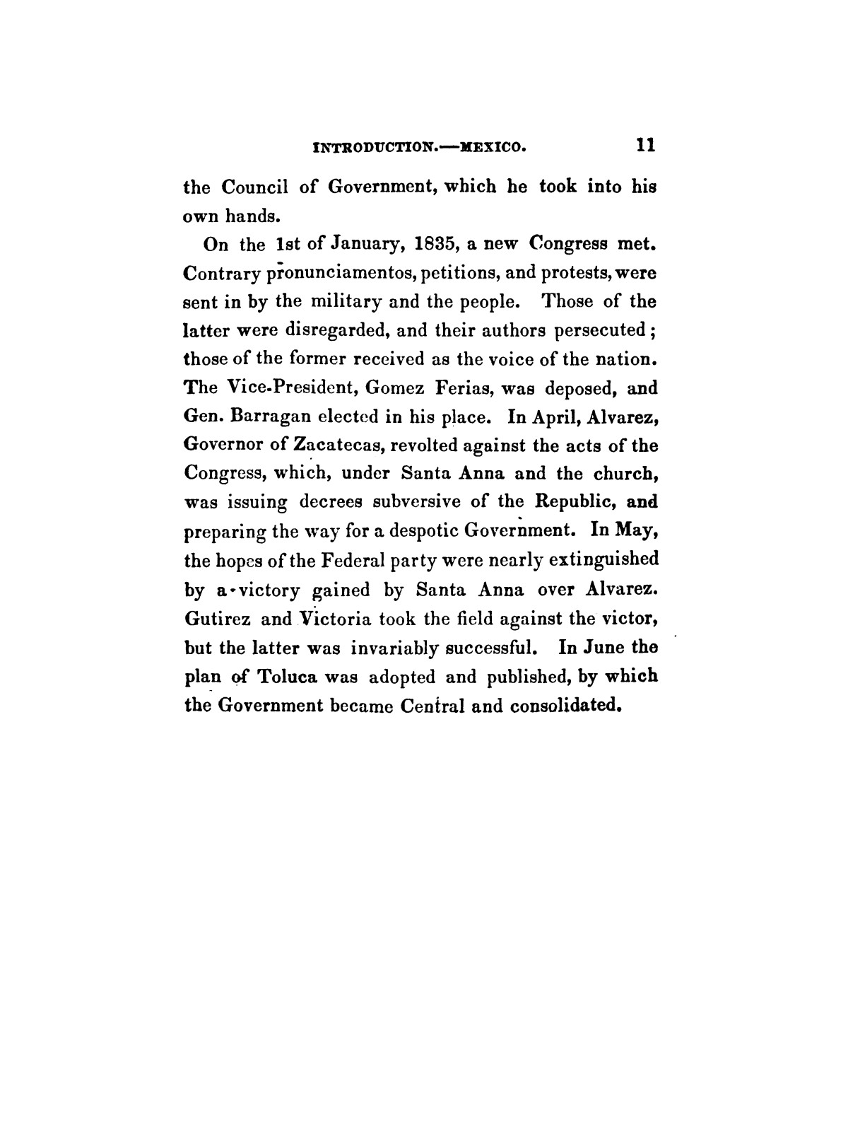 History of the revolution in Texas, particularly of the war of 1835 & '36; together with the latest geographical, topographical, and statistical accounts of the country, from the most authentic sources. Also, an appendix. By the Rev. C. Newell.                                                                                                      [Sequence #]: 23 of 227