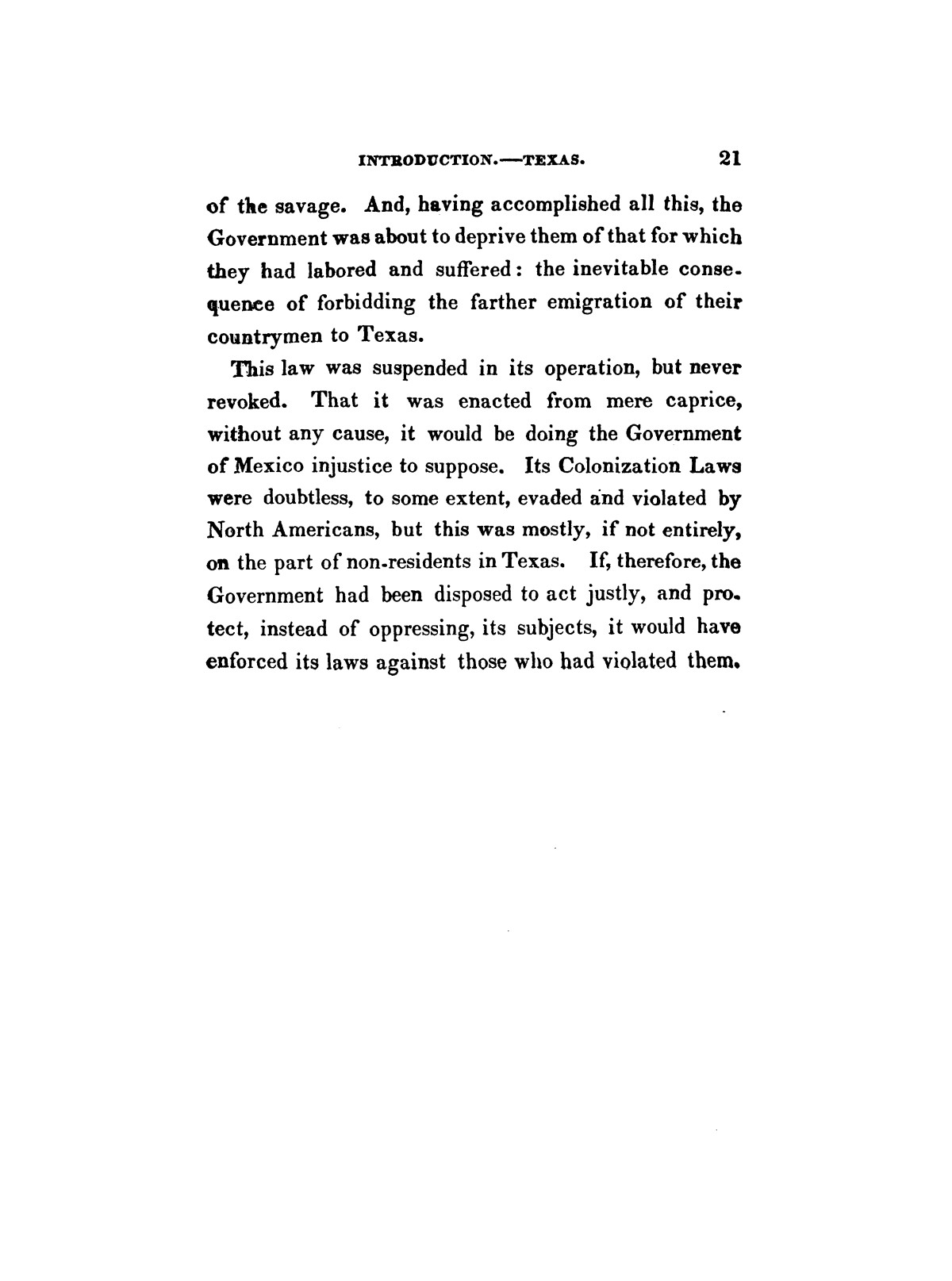 History of the revolution in Texas, particularly of the war of 1835 & '36; together with the latest geographical, topographical, and statistical accounts of the country, from the most authentic sources. Also, an appendix. By the Rev. C. Newell.                                                                                                      [Sequence #]: 33 of 227
