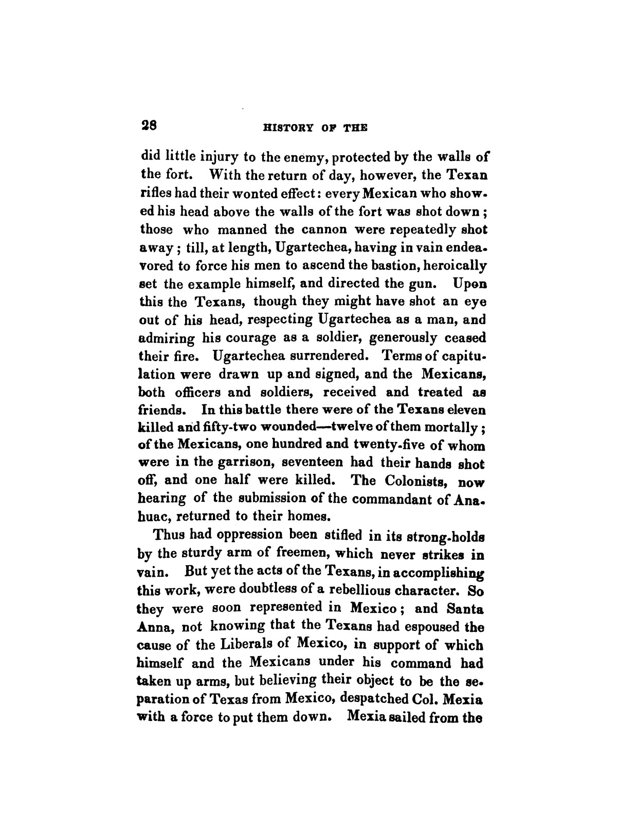 History of the revolution in Texas, particularly of the war of 1835 & '36; together with the latest geographical, topographical, and statistical accounts of the country, from the most authentic sources. Also, an appendix. By the Rev. C. Newell.                                                                                                      [Sequence #]: 40 of 227