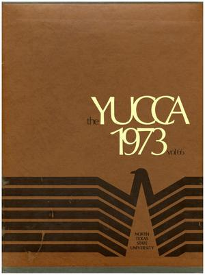 Primary view of object titled 'The Yucca, Yearbook of North Texas State University, 1973'.