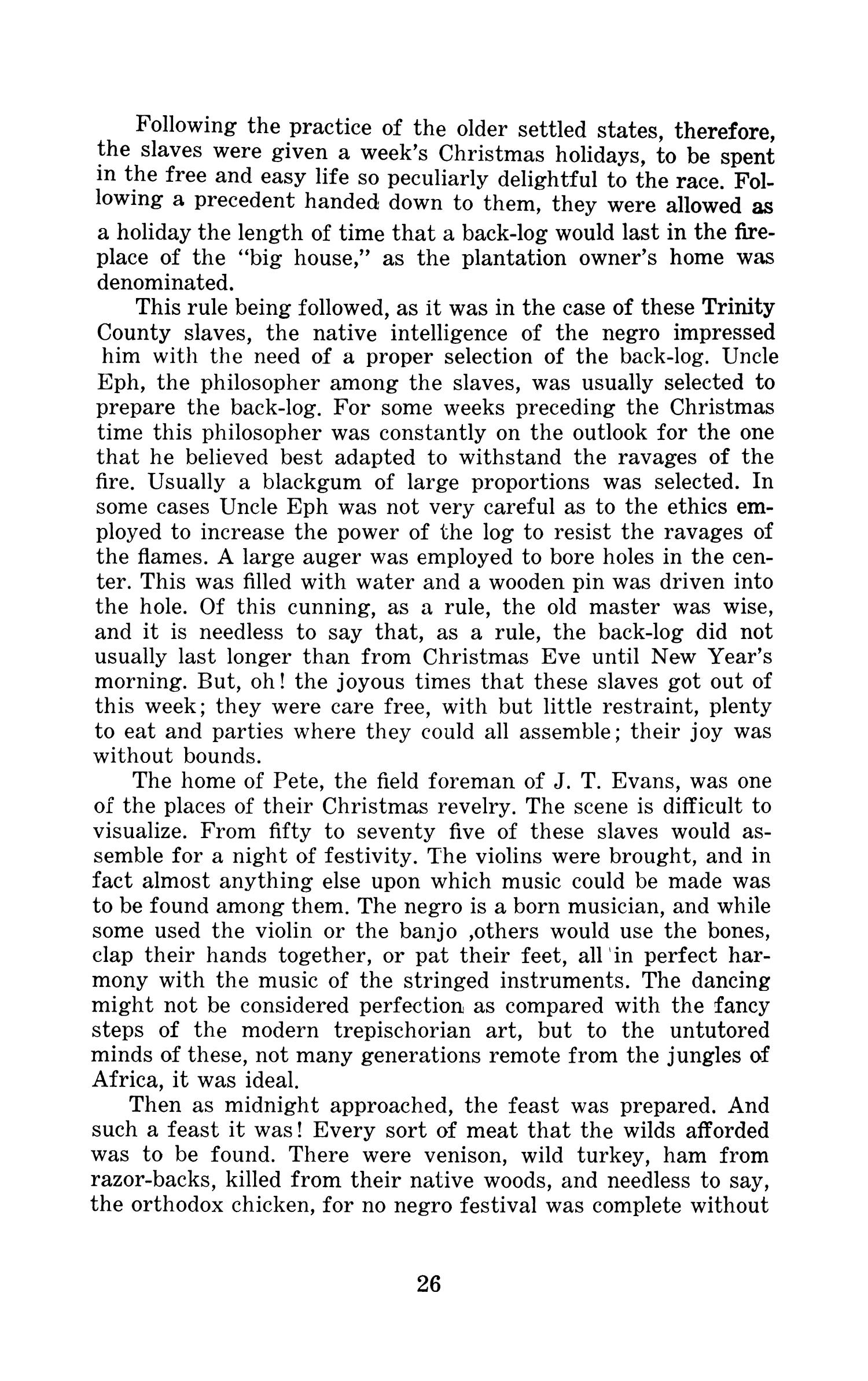 A History Of Trinity County Texas, 1827 to 1928                                                                                                      26
