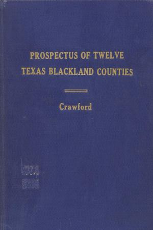 Primary view of object titled 'Prospectus of Twelve Central Texas Counties.'.