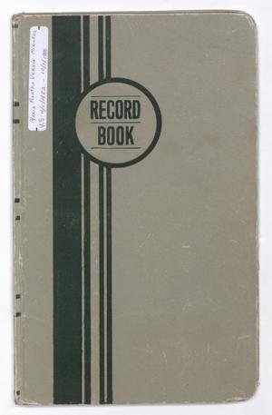 Maria-Martha Verein Minutes from November 1, 1982-October 1, 1990