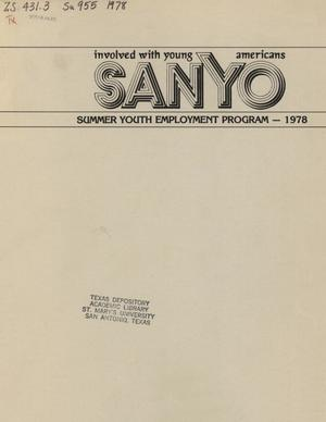 Primary view of object titled 'SANYO Summer Youth Employment Program -- 1978'.