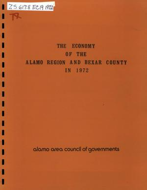 Primary view of object titled 'The Economy of the Alamo Region and Bexar County in 1972'.