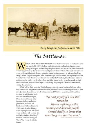 Primary view of object titled '[The Cattleman Description]'.