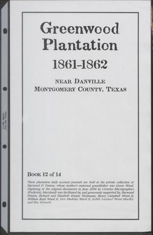 [Greenwood Plantation Accounts: 1861-1862]