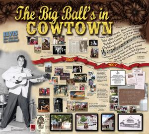 [Poster: The Big Ball's in Cowtown]
