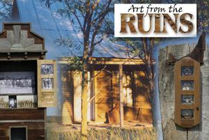 Primary view of object titled '[Poster: Art from the Ruins]'.