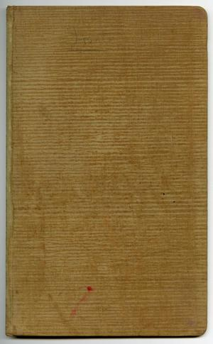 Primary view of object titled '[Index to Contract Book]'.