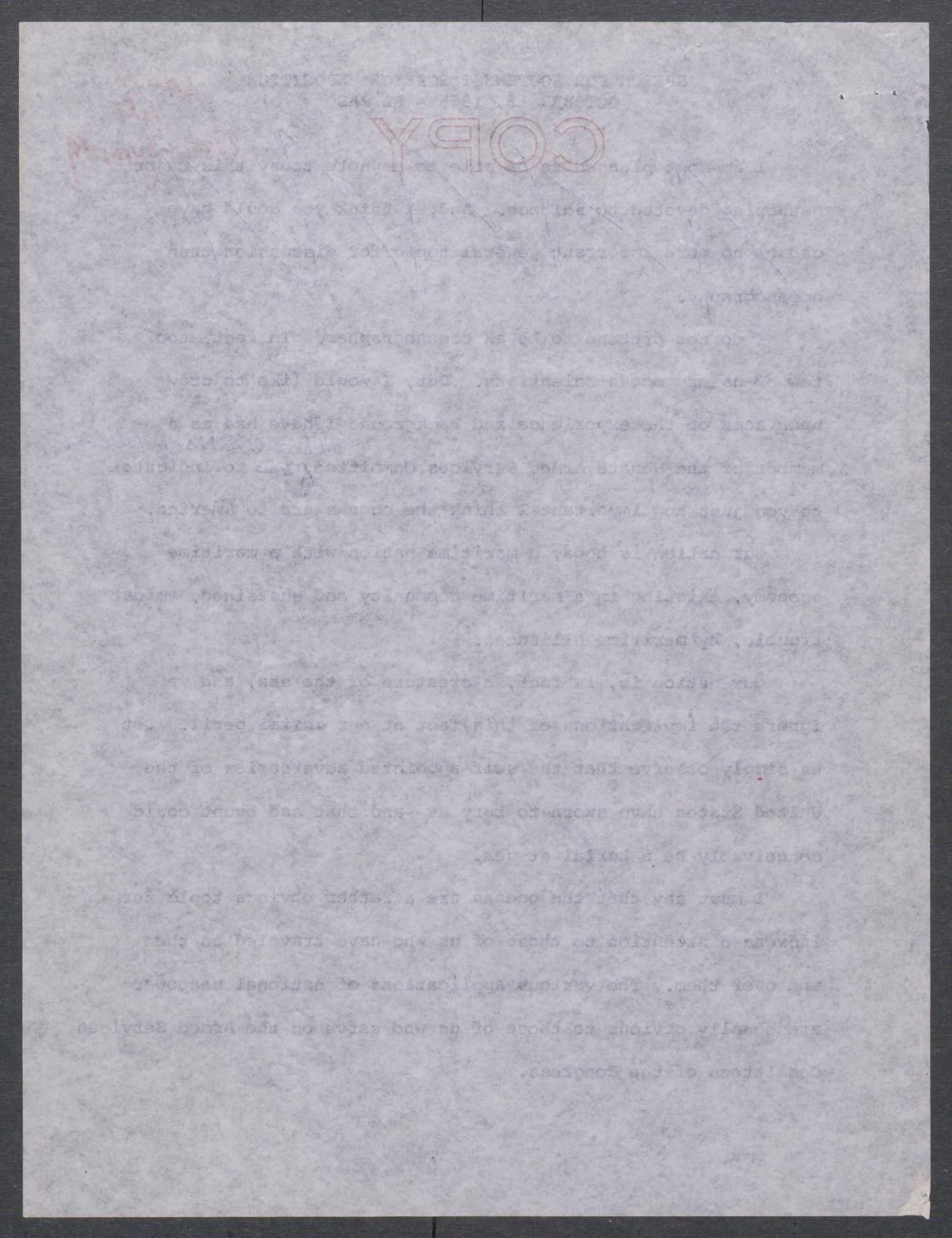 [John Tower Speech on Oceanography given to the Southwest Science Exposition, El Paso, Texas, October 13, 1965]                                                                                                      [Sequence #]: 2 of 18