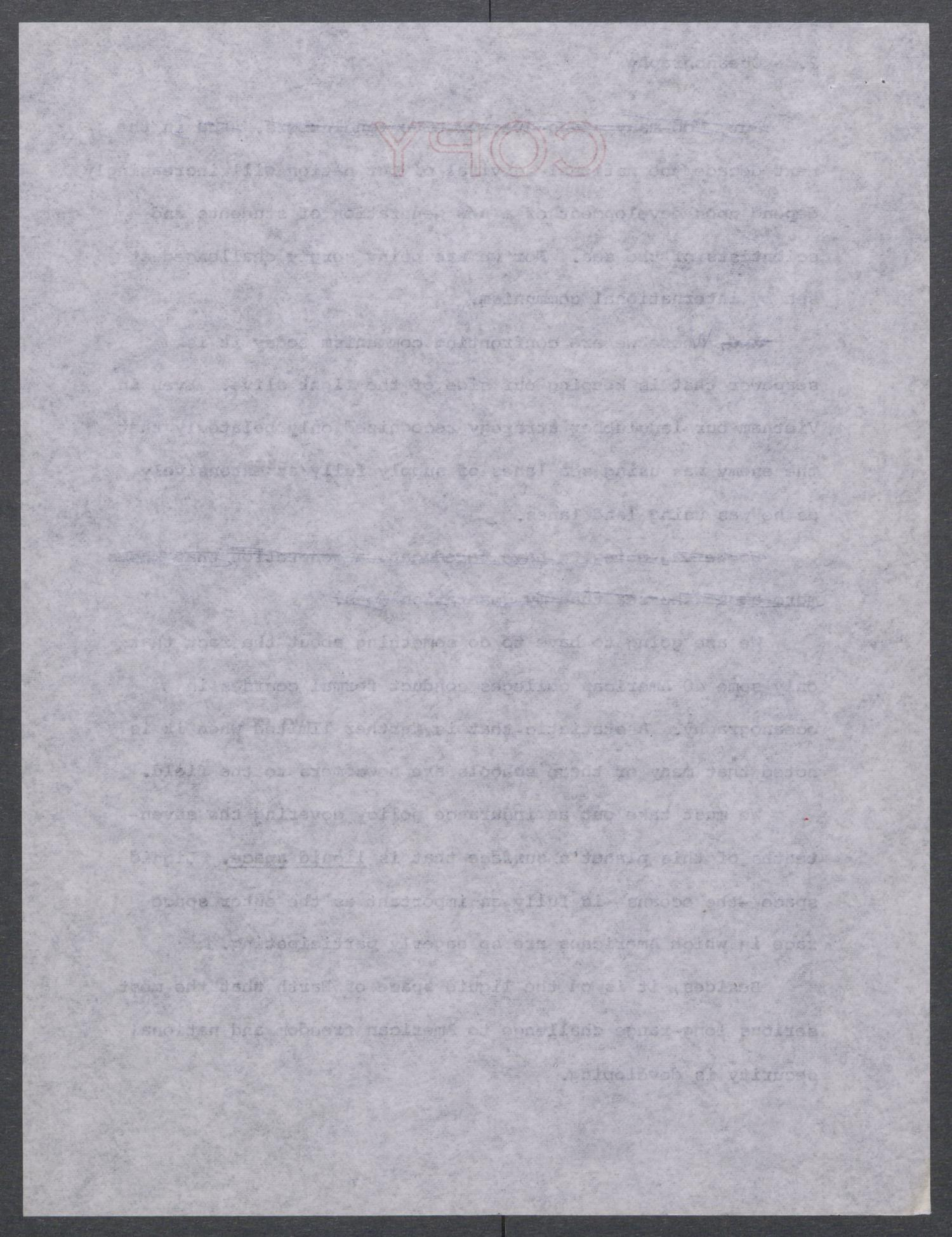 [John Tower Speech on Oceanography given to the Southwest Science Exposition, El Paso, Texas, October 13, 1965]                                                                                                      [Sequence #]: 4 of 18