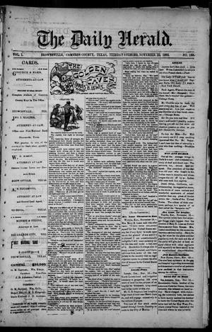 The Daily Herald (Brownsville, Tex.), Vol. 1, No. 122, Ed. 1, Tuesday, November 22, 1892