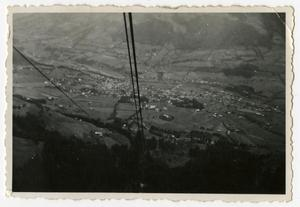 Primary view of object titled '[Photograph of Town in Valley]'.
