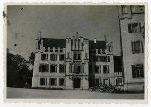 Primary view of object titled '[Photograph of German Building]'.