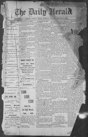 Primary view of object titled 'The Daily Herald (Brownsville, Tex.), Vol. 1, No. 158, Ed. 1, Tuesday, January 3, 1893'.