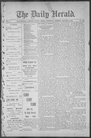 The Daily Herald (Brownsville, Tex.), Vol. 1, No. 159, Ed. 1, Wednesday, January 4, 1893