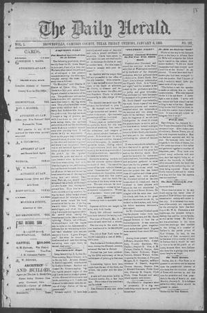 The Daily Herald (Brownsville, Tex.), Vol. 1, No. 161, Ed. 1, Friday, January 6, 1893