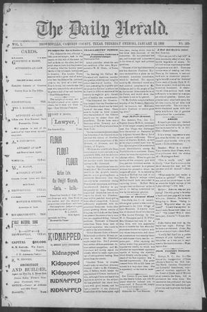 The Daily Herald (Brownsville, Tex.), Vol. 1, No. 166, Ed. 1, Thursday, January 12, 1893
