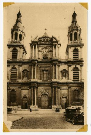 Primary view of object titled '[Postcard of Notre-Dame-de-l'Annonciation in Nancy, France]'.