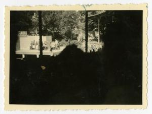 Primary view of object titled '[Photograph of Jack Benny Show]'.