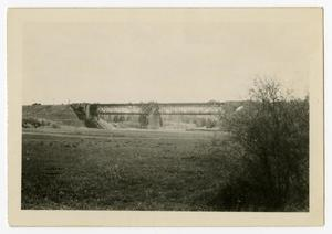 Primary view of object titled '[Photograph of Lech River Dam]'.