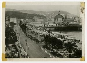 Primary view of object titled '[Photograph of Le Promenade]'.