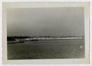 Primary view of object titled '[Photograph of Loading Docks]'.