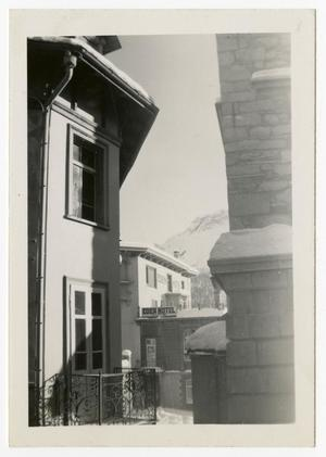 Primary view of object titled '[Photograph of Eden Hotel]'.