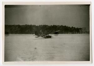Primary view of object titled '[Photograph of Crashed Airplane]'.