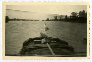 Primary view of object titled '[Photograph of Strasbourg Rhine Crossing]'.