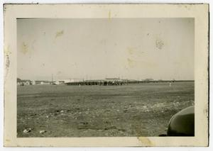 Primary view of object titled '[Photograph of MRTC Parade]'.
