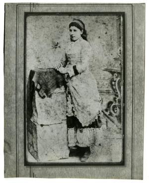 [Portrait of Bertha Christine Knudsen Andersen]