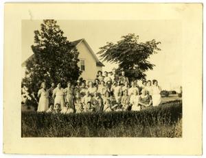 [Danish Ladies Aid in 1938]
