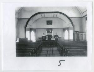 Church Altar with Pastors