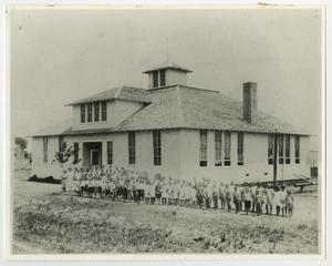 Primary view of object titled '[Main School Around 1920]'.
