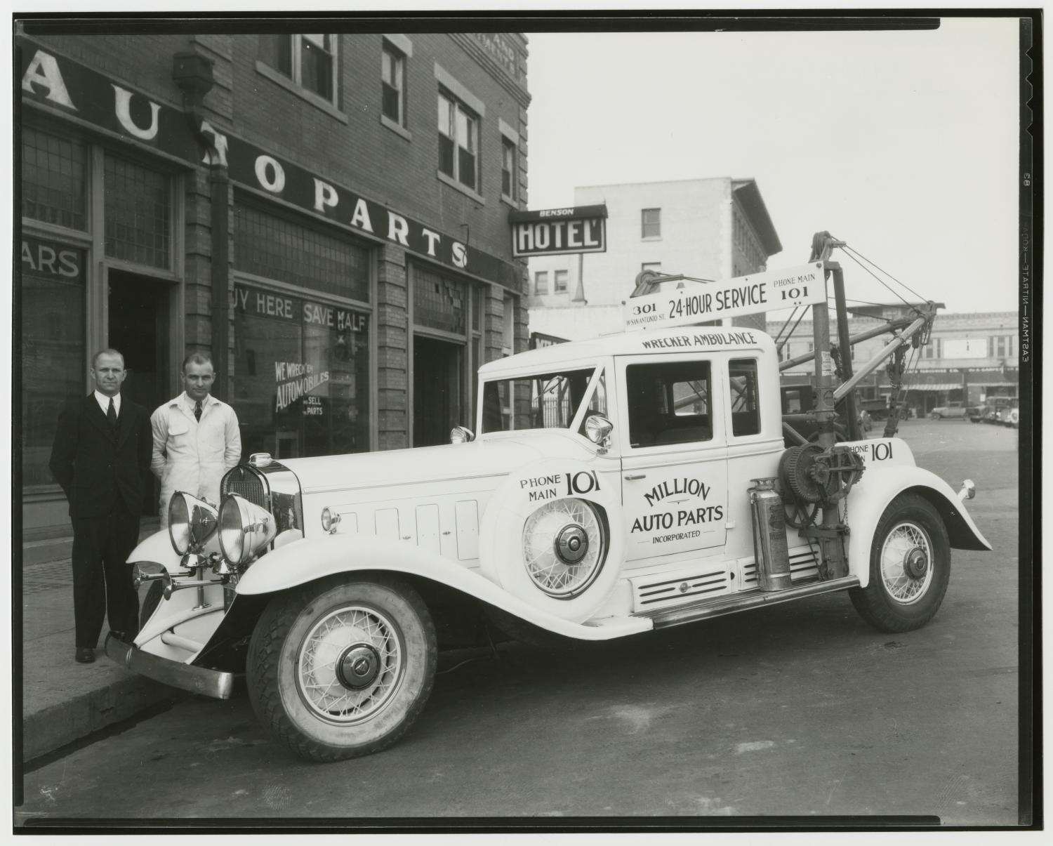 Million Auto Parts Incorporated Wrecker Ambulance] - The Portal to ...