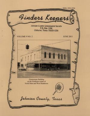 Finders Keepers, Volume 9, Number 2, June 2011