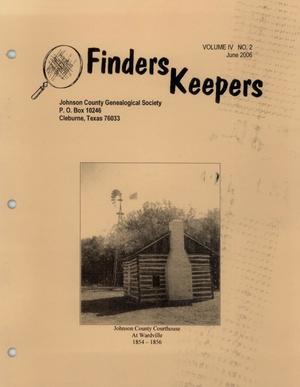 Finders Keepers, Volume 4, Number 2, June 2006
