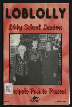 Loblolly, Volume 27, Number 1, Summer 2000