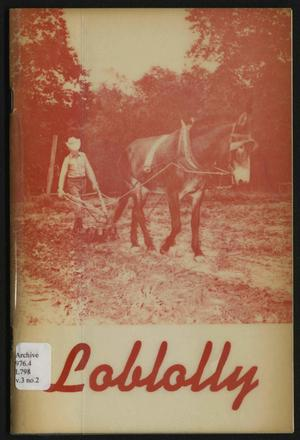 Loblolly, Volume 3, Number 2, Fall 1975