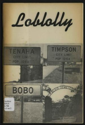 Loblolly, Volume 5, Number 2, Fall 1977