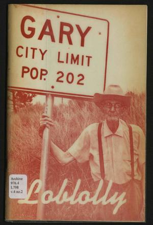 Loblolly, Volume 4, Number 2, Fall 1976