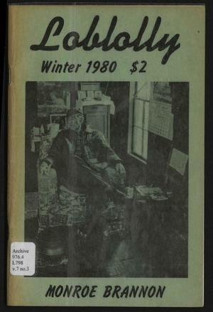 Loblolly, Volume 7, Number 3, Winter 1980