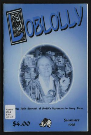 Loblolly, Volume 26, Number 2, Summer 1998